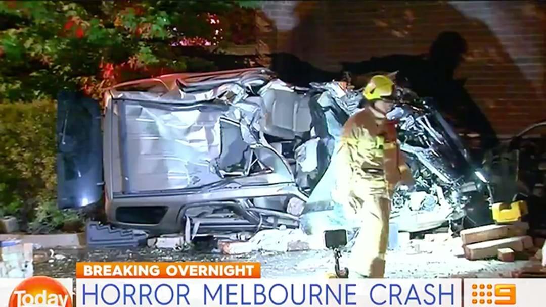 Five Seriously Injured In Nasty Melbourne Car Crash