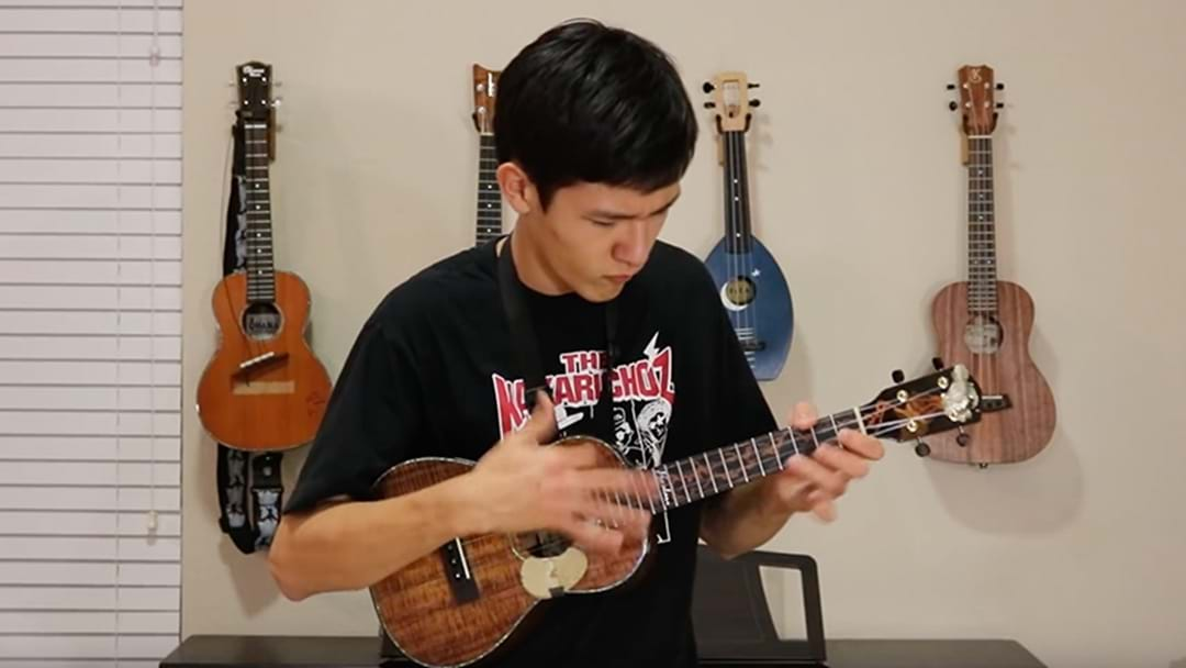 Young Kid Absolutely Nails An AC/DC Cover On A Ukulele