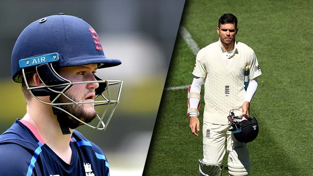 England Player Suspended For Pouring A Drink On Jimmy Anderson