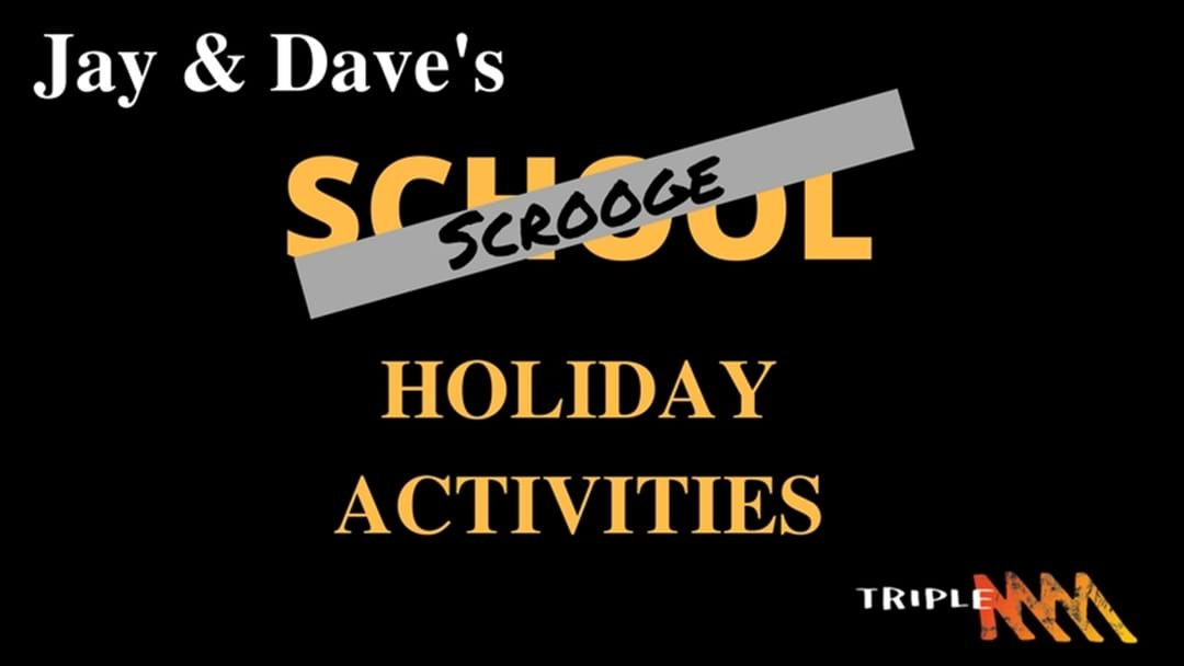 "Jay & Dave's ""Scrooge"" holiday activities"