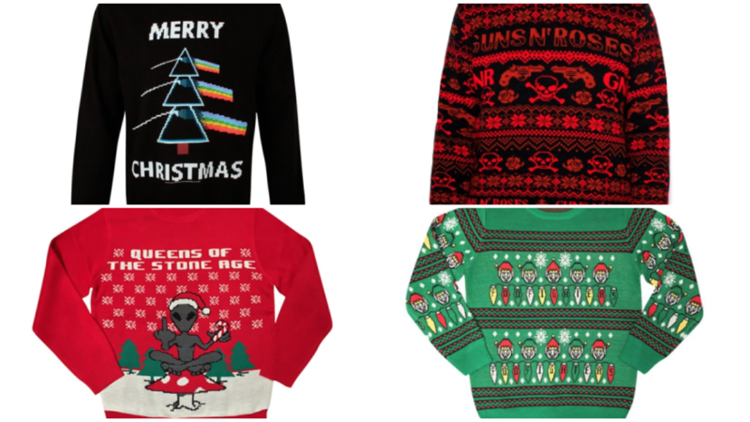9 Of The Best Ugly Christmas Band Jumpers
