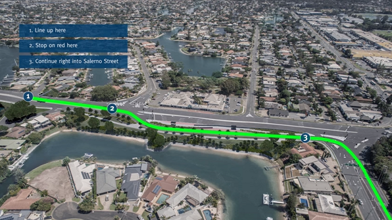 Article heading image for Traffic to flow smoothly at busy Gold Coast intersection