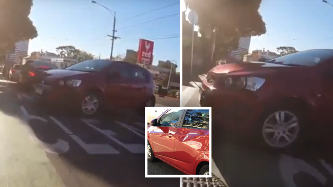 WATCH: Melbourne Cyclist's Nasty Accident