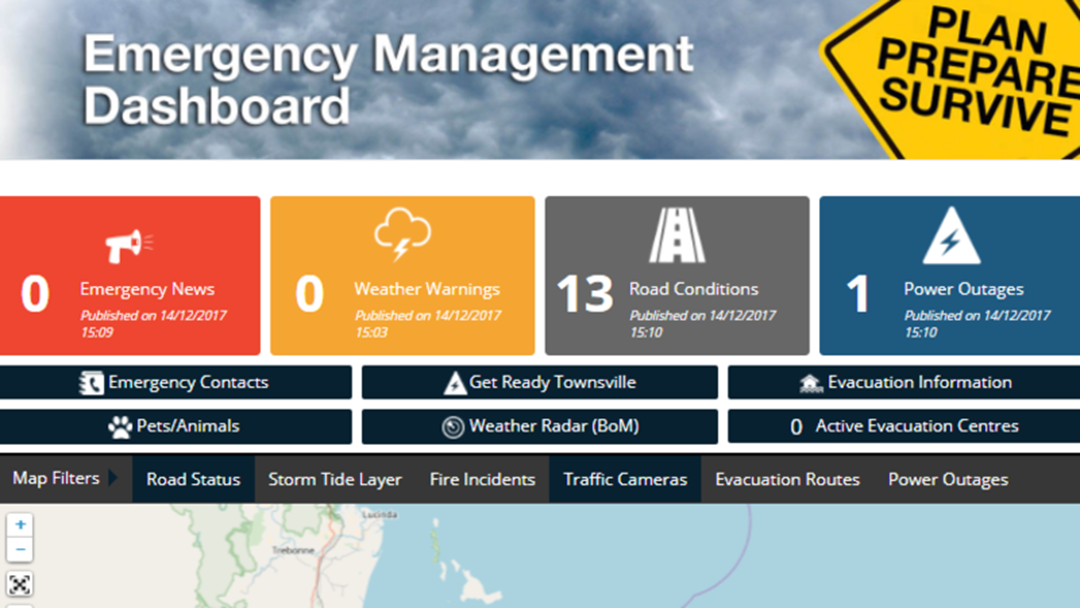 A Super Handy 'Townsville Warnings' Website Has Been Launched