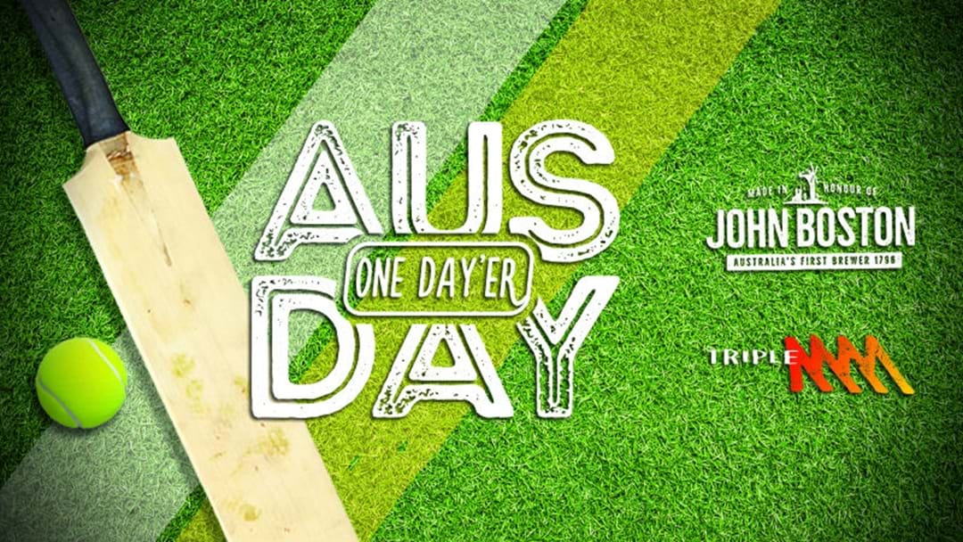 Triple M's Australia One-Dayer with John Boston