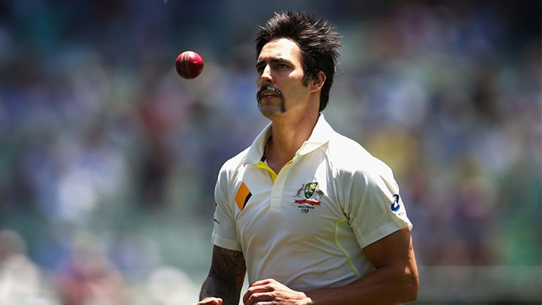 The Outrageous Song Mitchell Johnson Was Listening To When He Was Destroying England