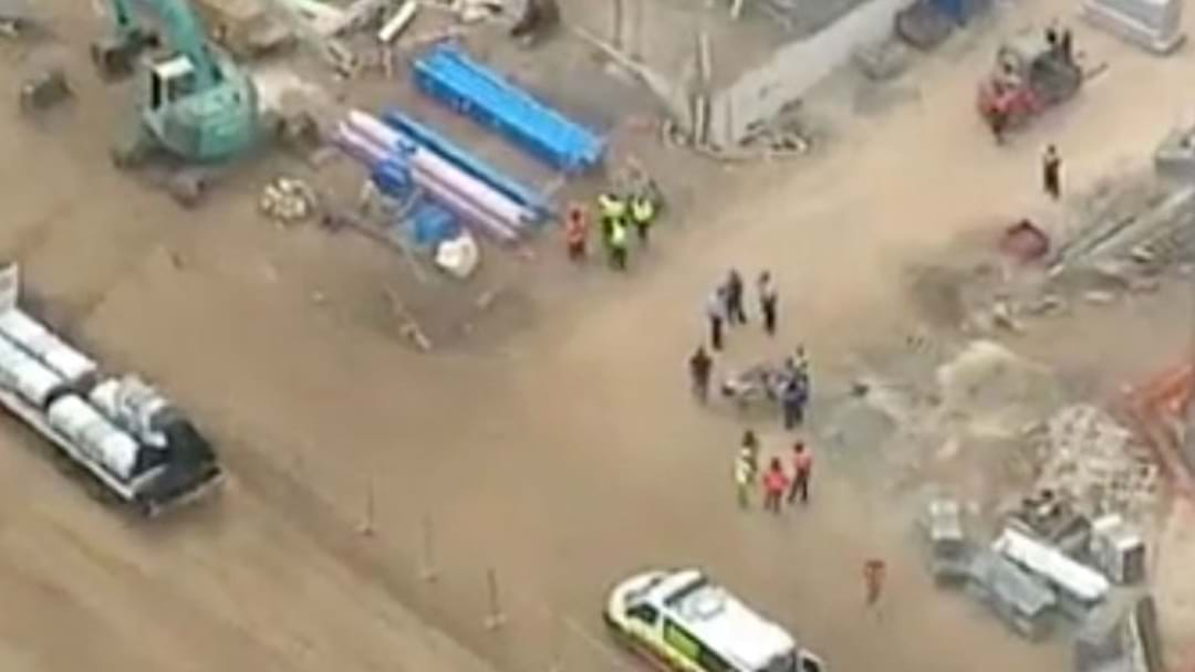 Several Workers Injured After 100kgs Of Metal Fell From Crane