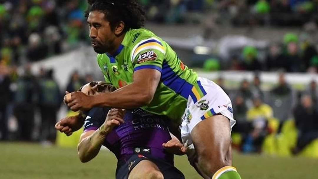 Sia Soliola Reflects On Horrific Billy Slater Tackle