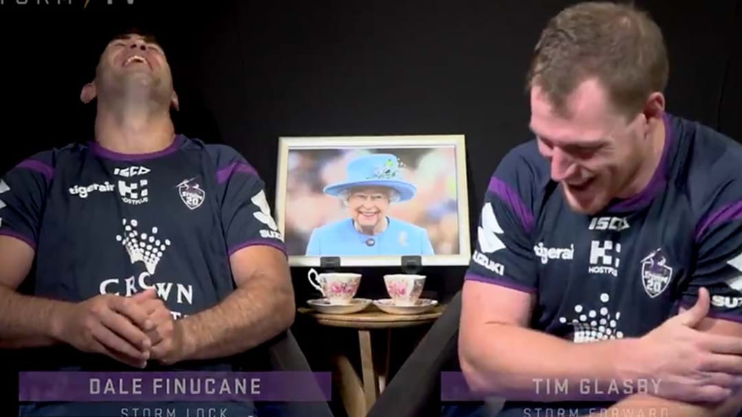 Storm Players Take The Piss Out Of The English Accent
