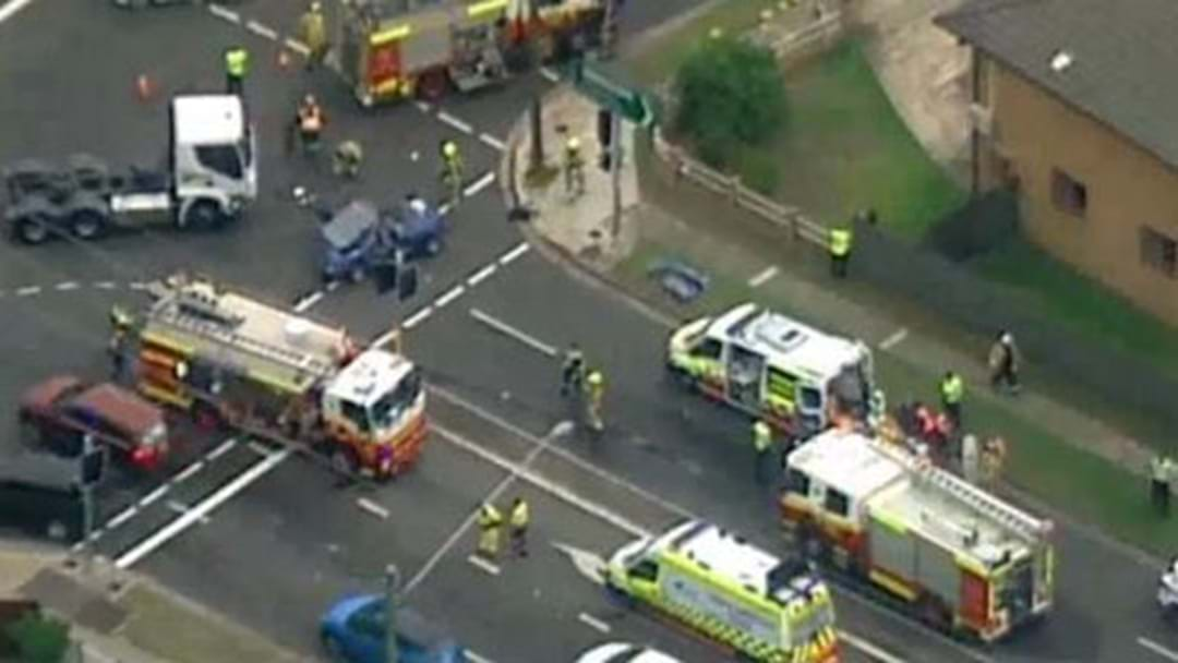 Paramedics Have Treated A Man Following A Collision In Blacktown