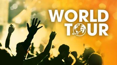 Win Your Way on to The World Tour!