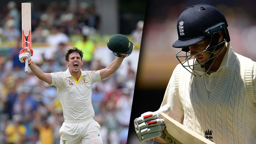 Mitch Marsh Has Made More Runs In One Innings Than Joe Root Has For The Series