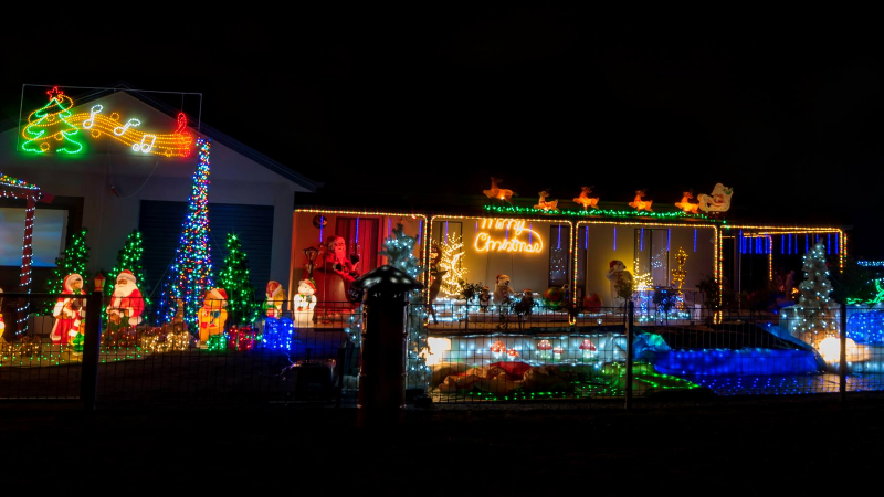 Article heading image for Christmas Light Displays To See On The Border