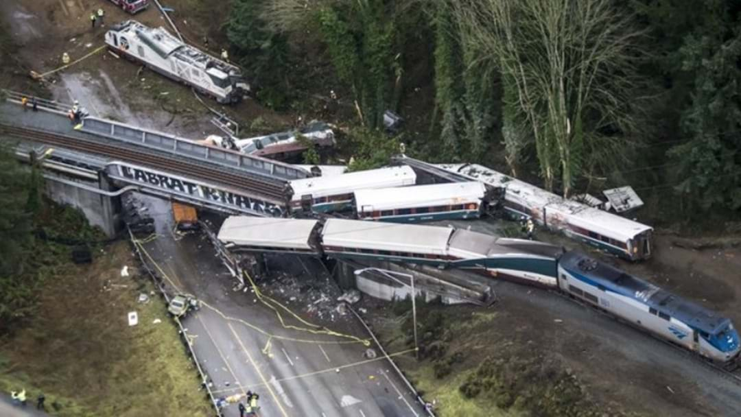 Multiple Fatalities After Train Derails In The US During First Journey On High Speed Route