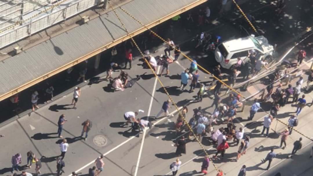 Police Update On Second Man Arrested On Flinders Street