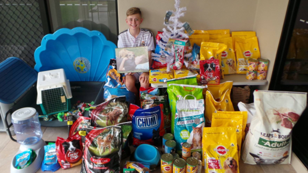 Townsville Teen Donated Over $1000 Of Goodies To RSPCA