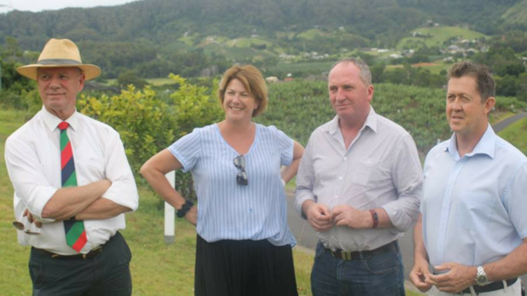 Barnaby Joyce Visits Coffs Harbour to Look at Proposed Bypass