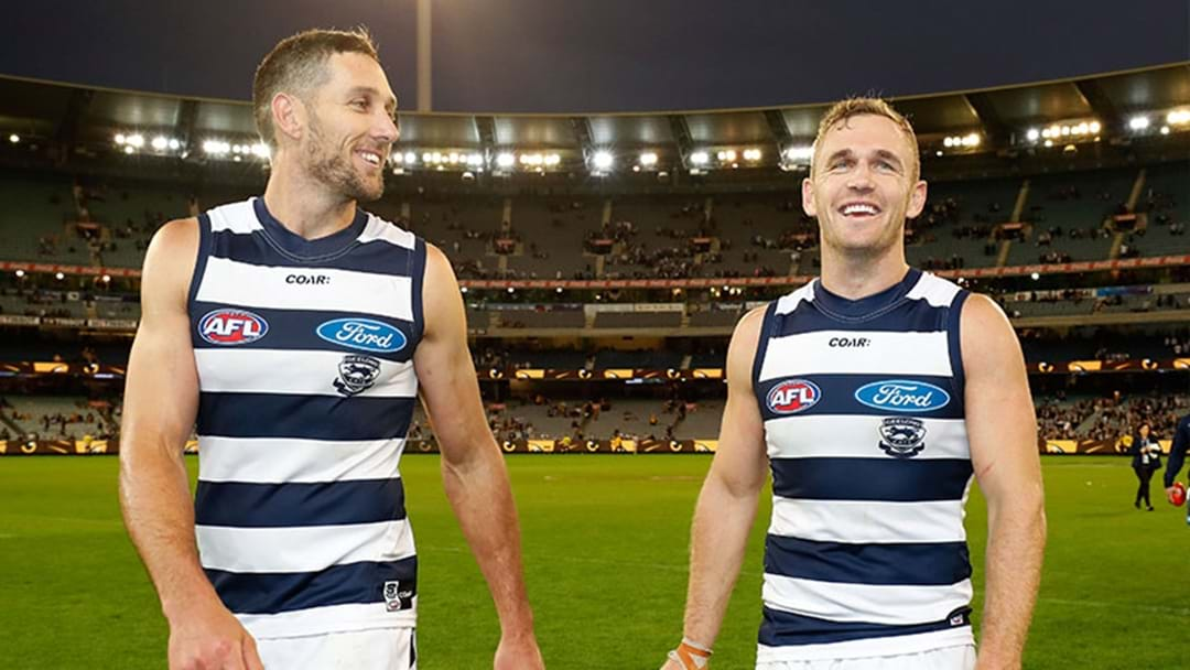 Harry Taylor And Joel Selwood Sign Contract Extensions