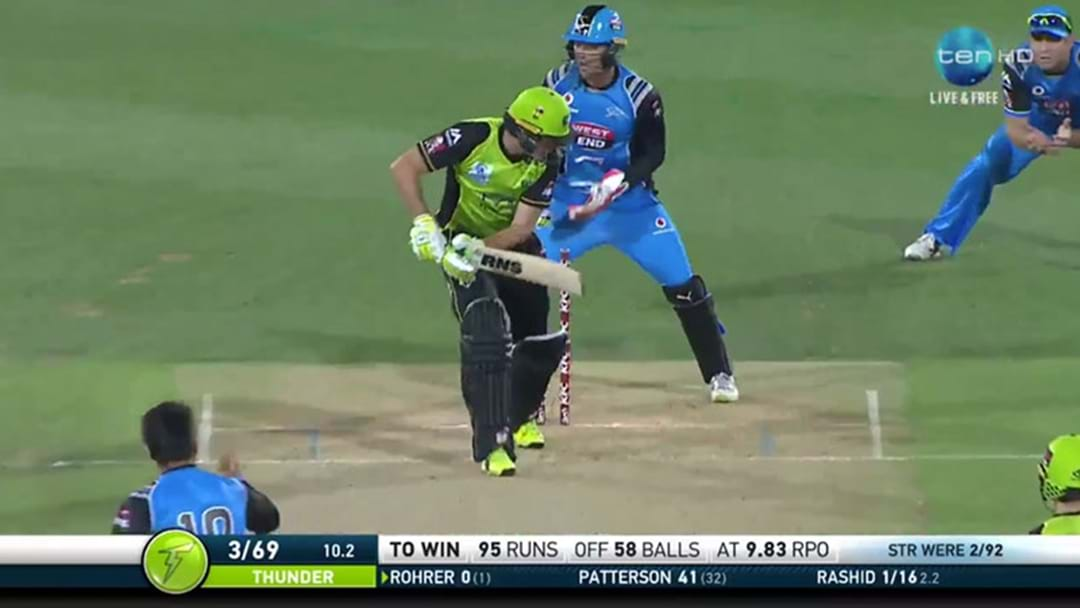 An Afghan Leggie Bowled The Ball Of The Big Bash Last Night