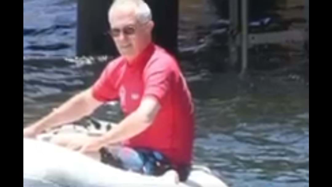 PM Malcolm Turnbull Slapped With Fine For Not Wearing Life Jacket