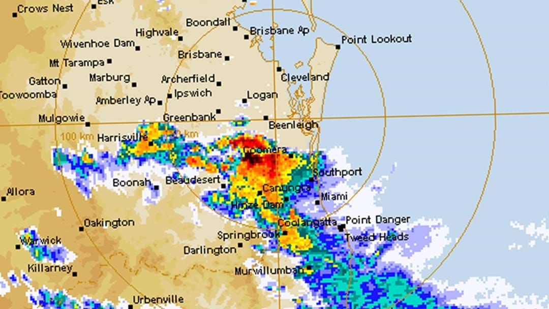 Severe Thunderstorm Warning For Brisbane