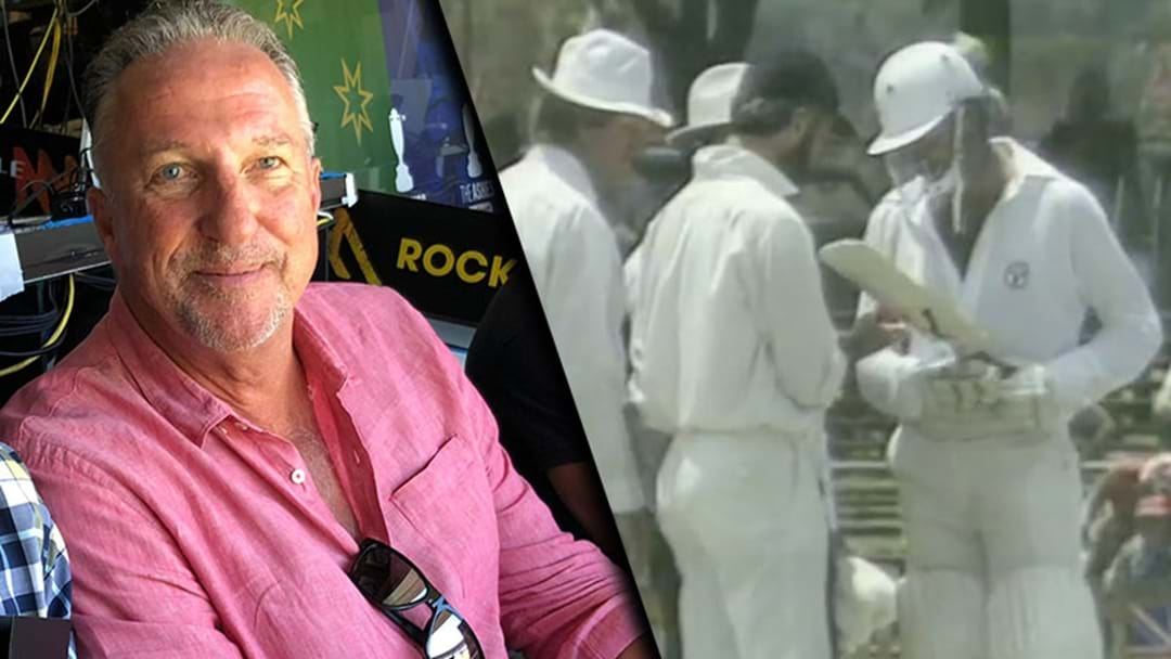 Sir Ian Botham Talks About The Time He Bowled To Dennis Lillee Using An Aluminium Bat