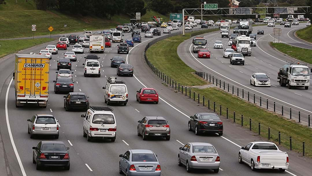 Trucks To Be Banned From The Right-Hand Lane Of The Monash Freeway In Nine-Month Trial