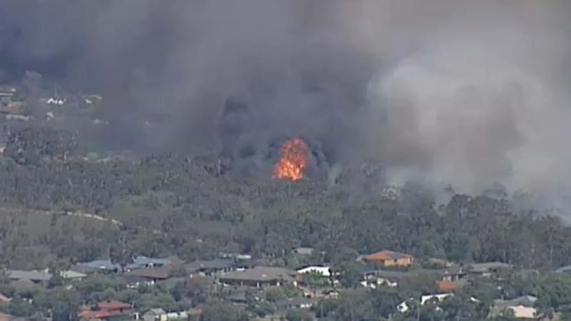 Fire crews work to contain Melbourne fire