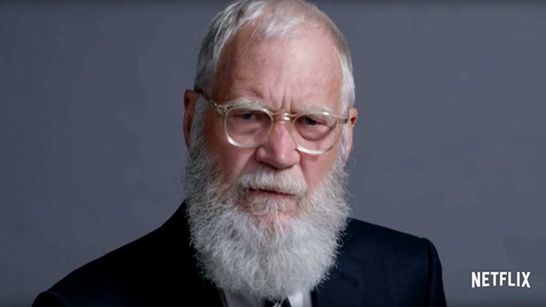 David Letterman's Getting A New Show On Netflix