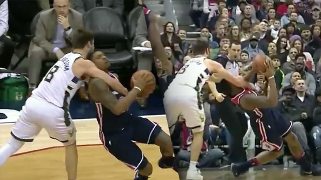 Matthew Dellavedova Legit Coat-Hangered An NBA Opponent