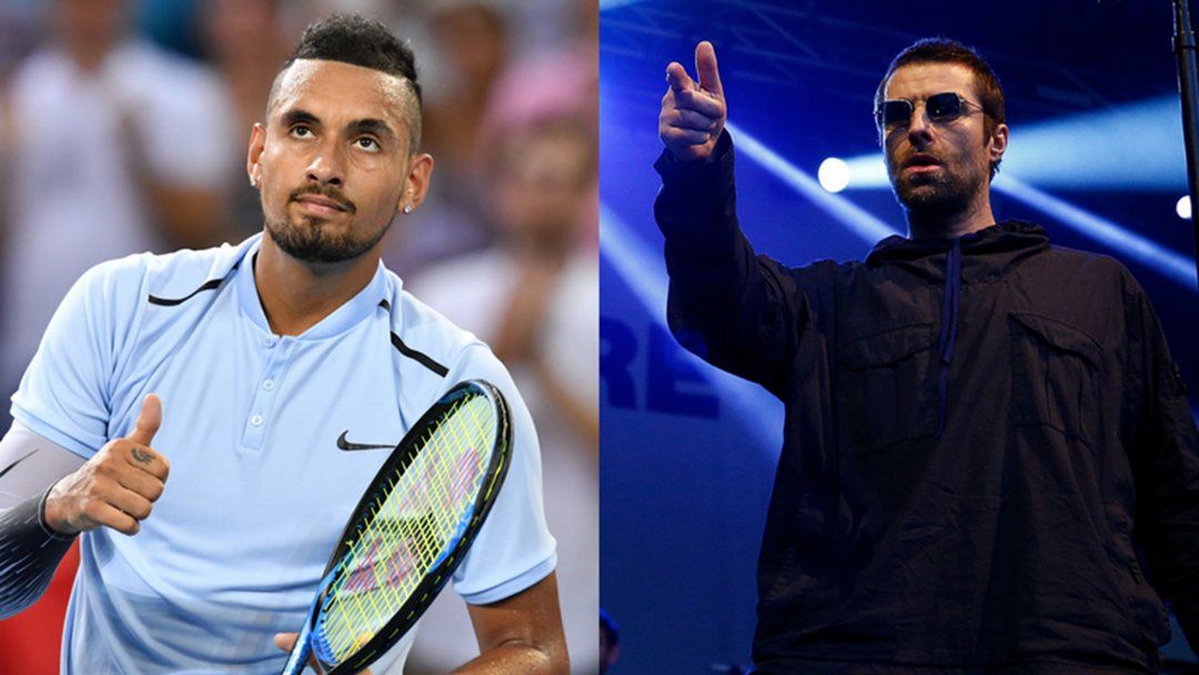 Nick Kyrgios' Number One Supporter Is None Other Than Liam Gallagher