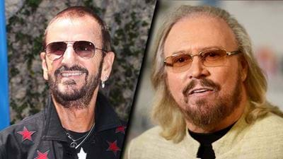 Ringo Starr & Barry Gibb Knighted