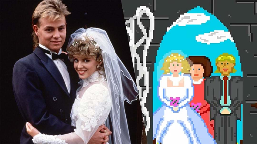 Some Bloke Has Animated Scott And Charlene's Famous 'Neighbours' Wedding in 16-bit