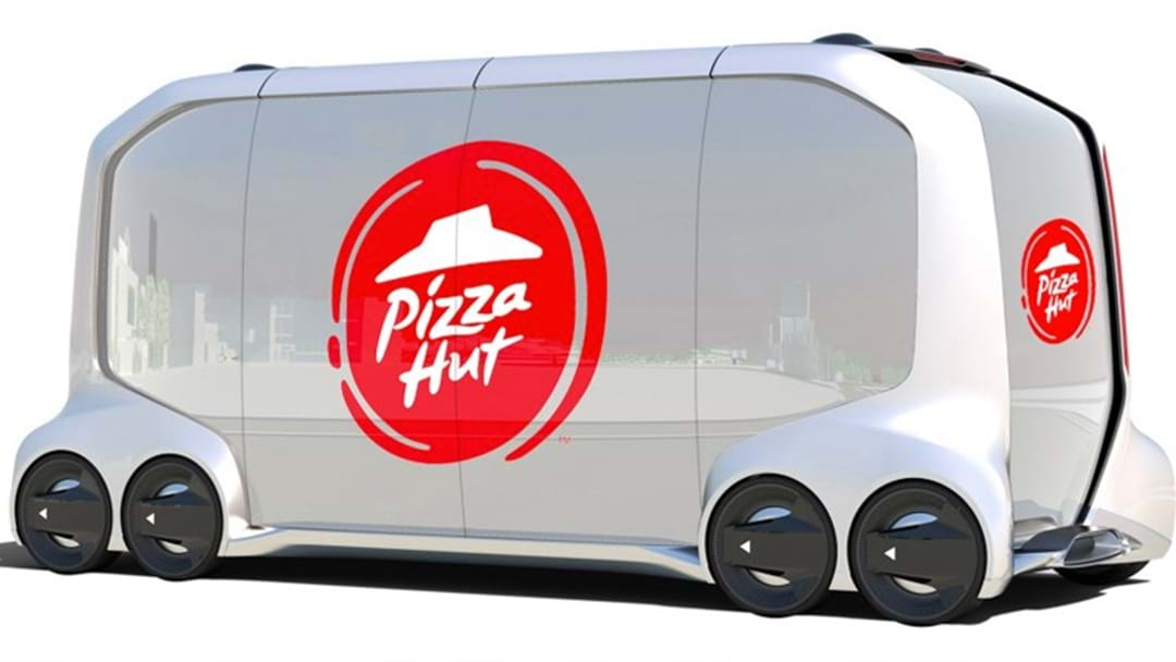 Pizza Hut Is Developing A Self-Driving Pizza Van