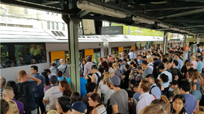 Sydney Trains Over Capacity