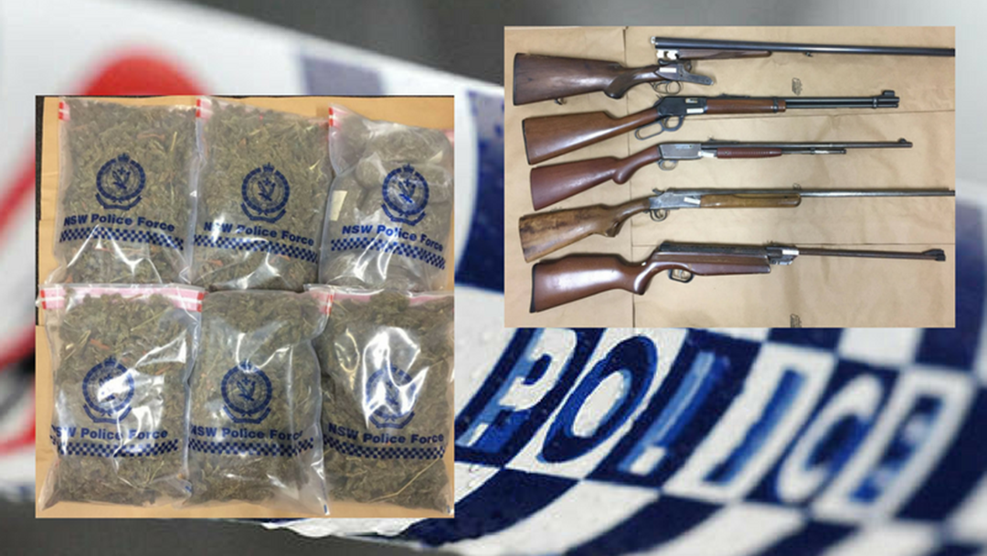 63 Year Old Charged with Drug and Firearm Offences on Mid North Coast