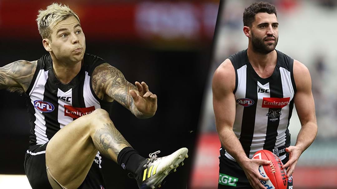 Collingwood Has Given An Update On Jamie Elliott And Alex Fasolo's Fitness