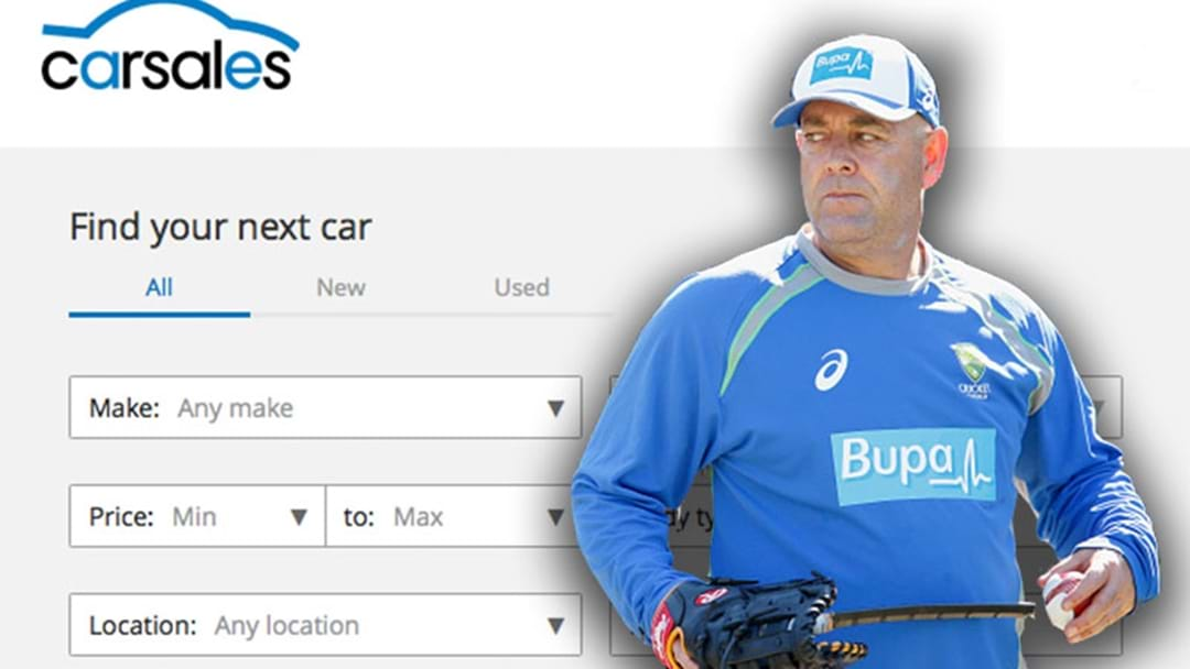 Darren Lehmann Once Tried To Sell One Of His Players Cars On The Internet