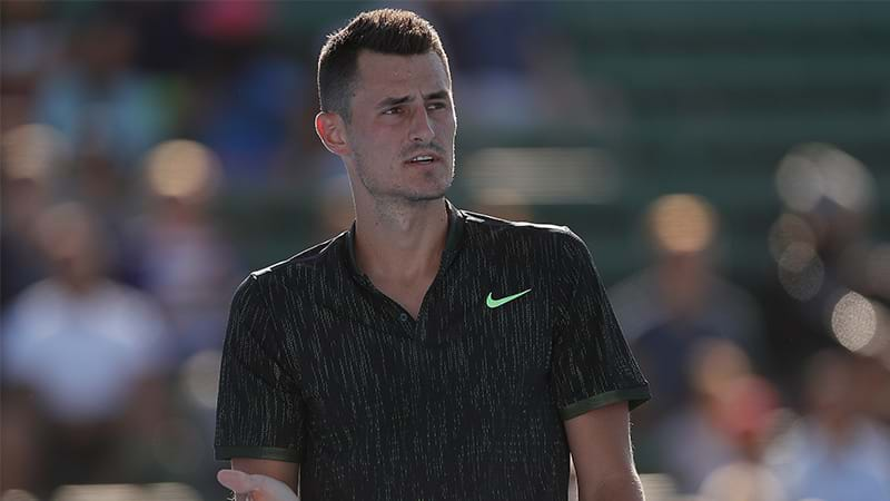 Motivated Bernard Tomic defends himself and good friend Nick Kyrgios