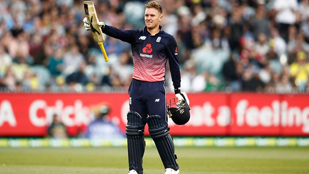 Jason Roy Made More Runs In Yesterday's ODI Than He Has In His Whole Big Bash Career