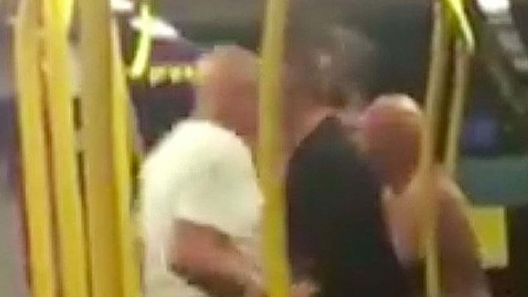 78-Year-Old Man Filmed Headbutting Teenager On Tram
