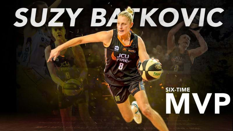 Article heading image for THE GREATEST: Suzy Batkovic Named WNBL's MVP For 6th Time