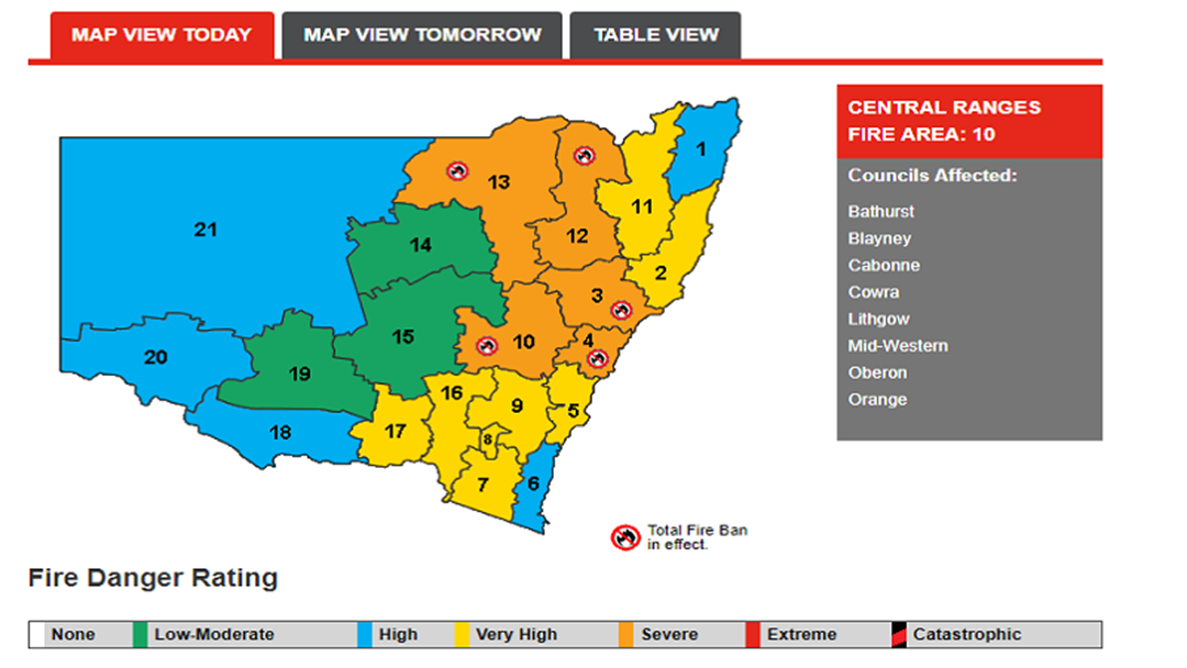 Central West Urged to Prepare for Heatwave