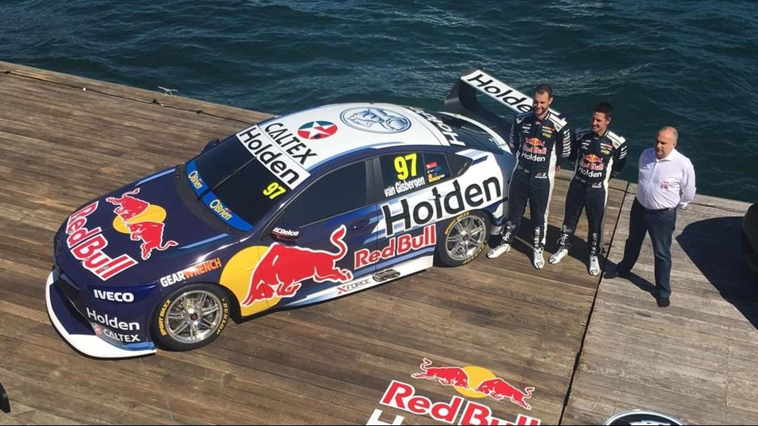 Red Bull Unveil Supercars Championship Defender