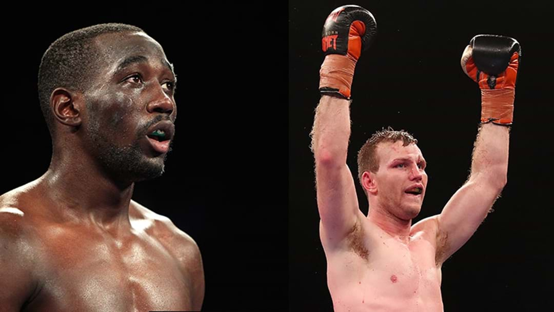 Verbal Agreement Reached For Jeff Horn v Terence Crawford Bout