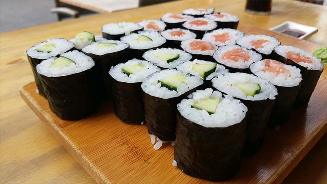 German Bloke Banned From All-You-Can-Eat Sushi Restaurant After Devouring 100 Pieces