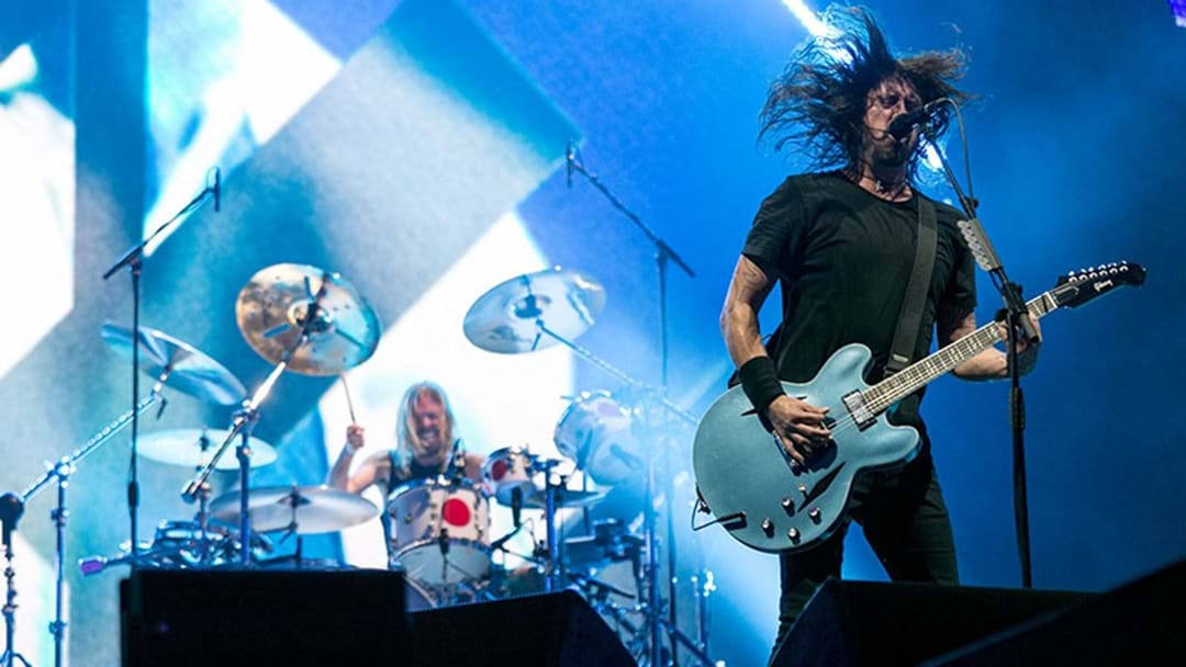 WATCH:  Foo Fighters Huge Brit Awards Performance
