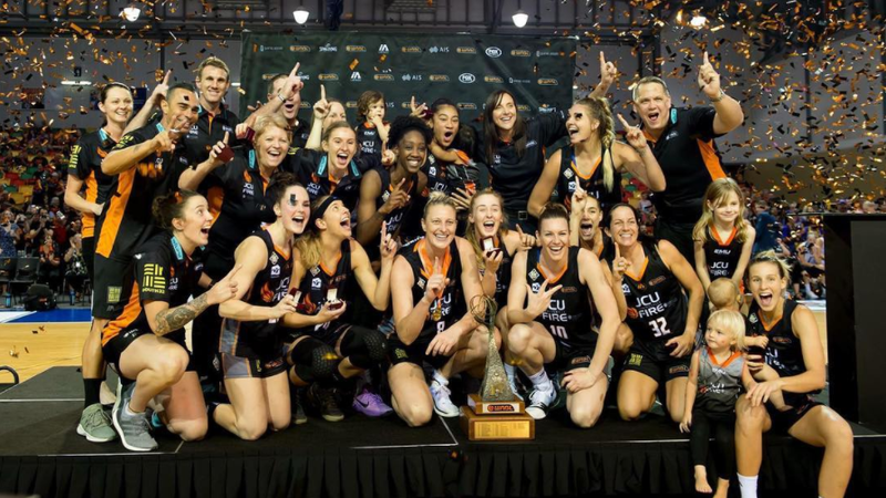 Article heading image for The Fire's WNBL Grand Final...In Pics!