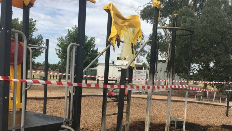 Article heading image for Fire at Archer Street playground