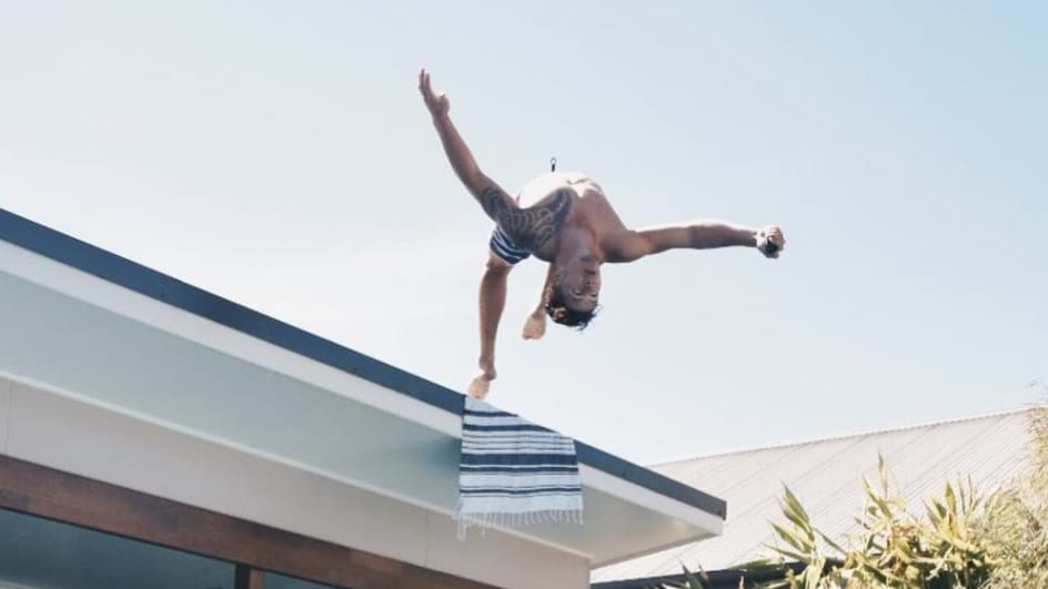 Article heading image for Knights Recruit's Rooftop Stunt Has Fans Feeling Nervous